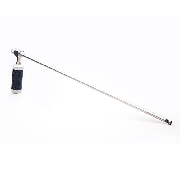 Stainless Steel Rigid Probe, 43cm, 6.5mm diameter (VSC65-17S)